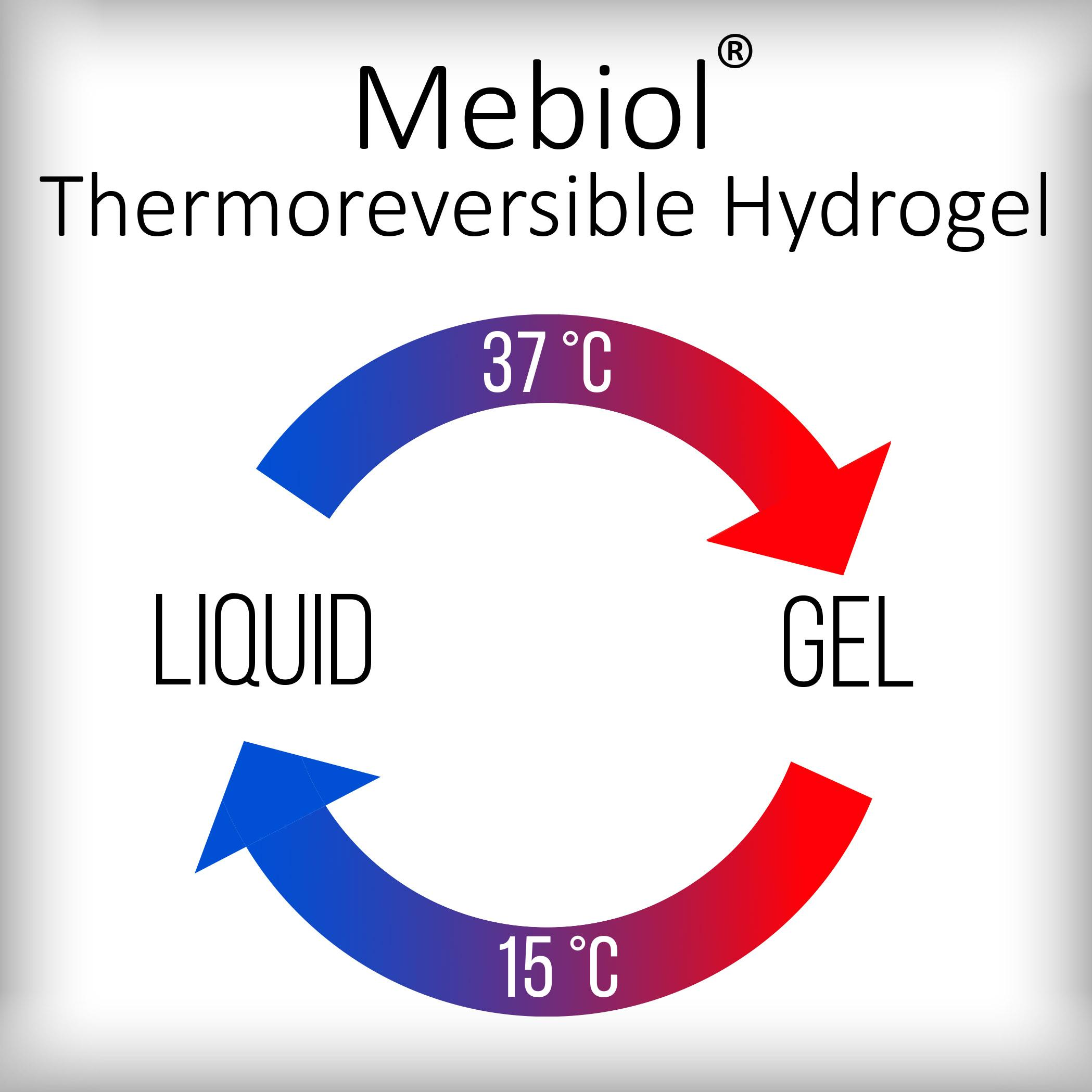 Mebiol thermoreversible hydrogel advanced biomatrix