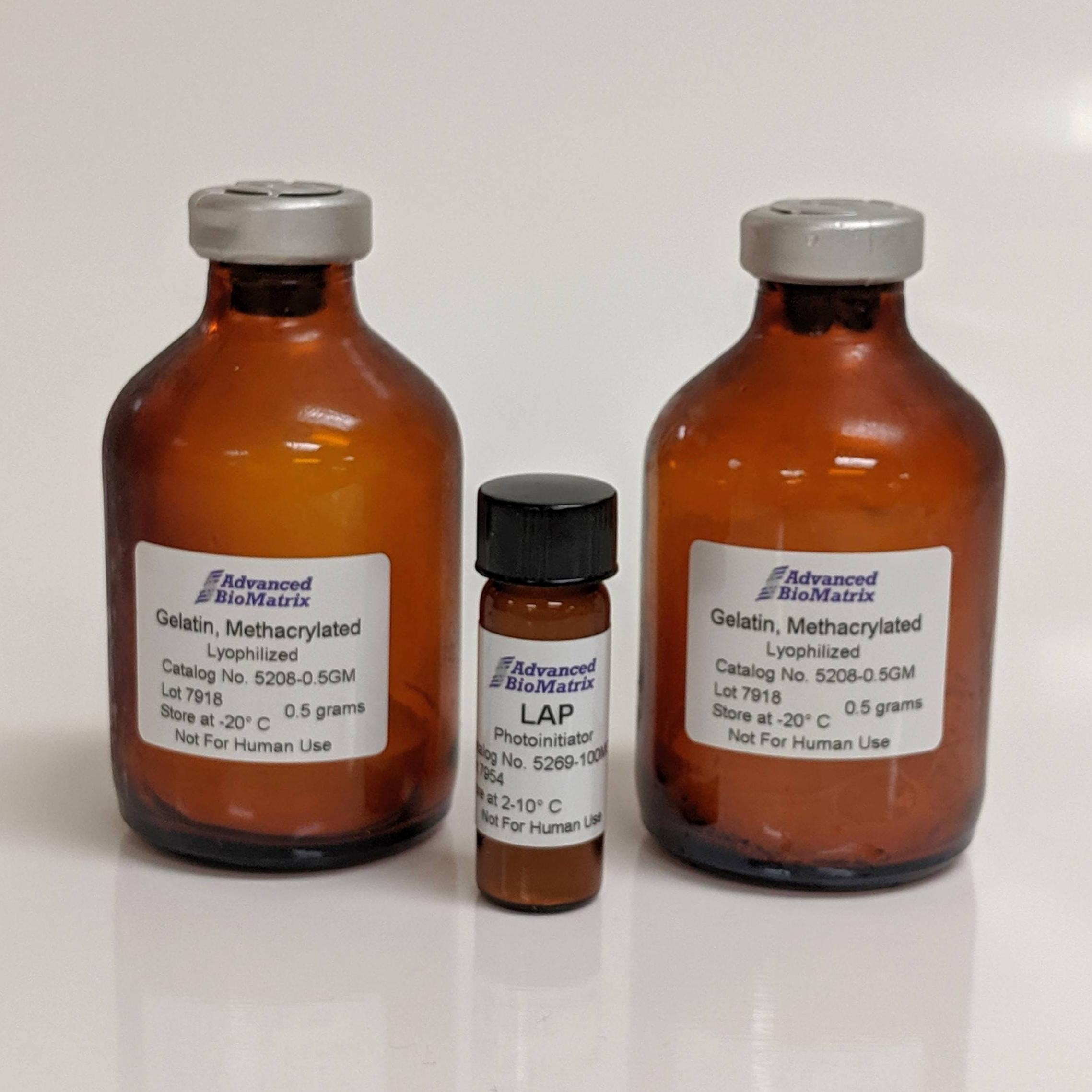 PhotoGel GelMa methacrylated Gelatin from Advanced BioMatrix